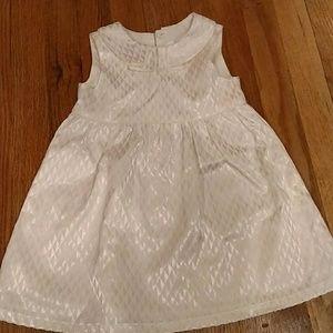 White dress size 12-18 months